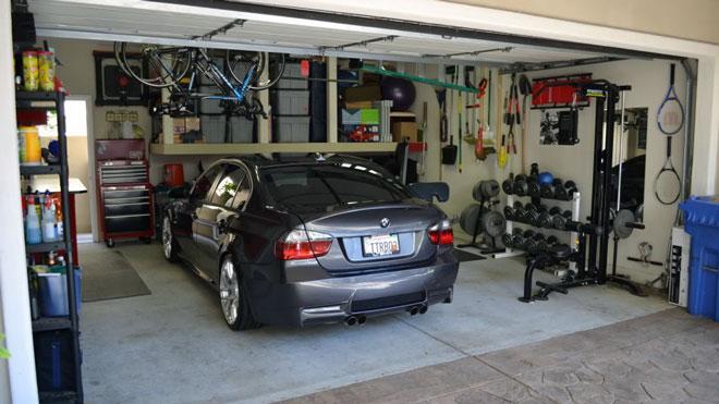 хранение авто в гараже