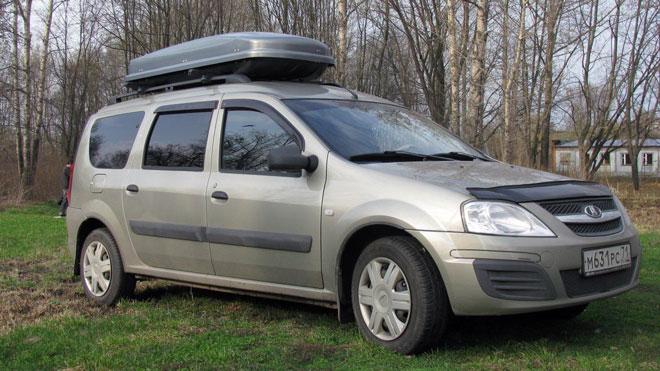 Дополнительный багажник на Лада Ларгус