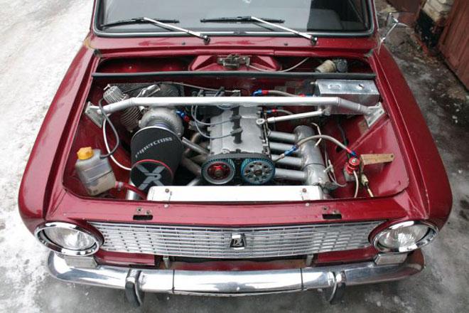 усовершенствованный мотор ЛАДА 2101
