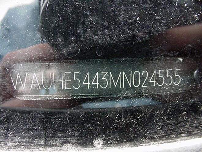 вин-номер авто