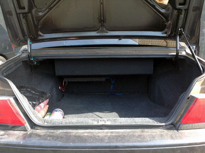 багажное отделение ВАЗ 2115