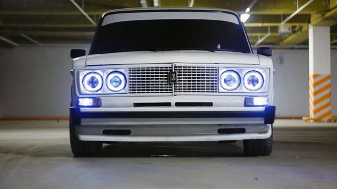 усовершенствованные передние фонари ВАЗ 2106