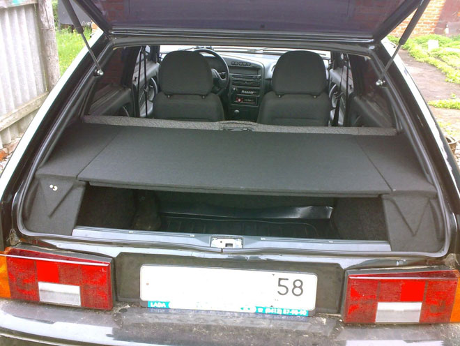 модернизированный багажник ВАЗ 2114