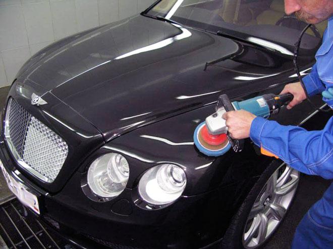 полировка автомобильного кузова
