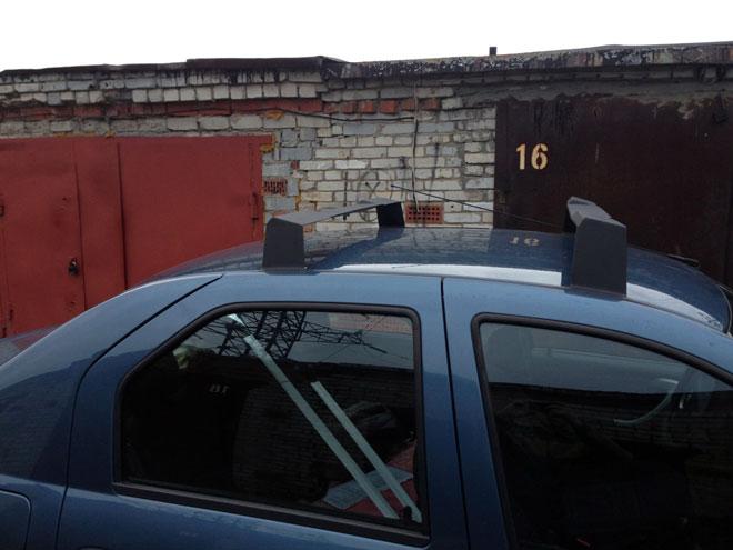 Багажник-на-крыше-Логана