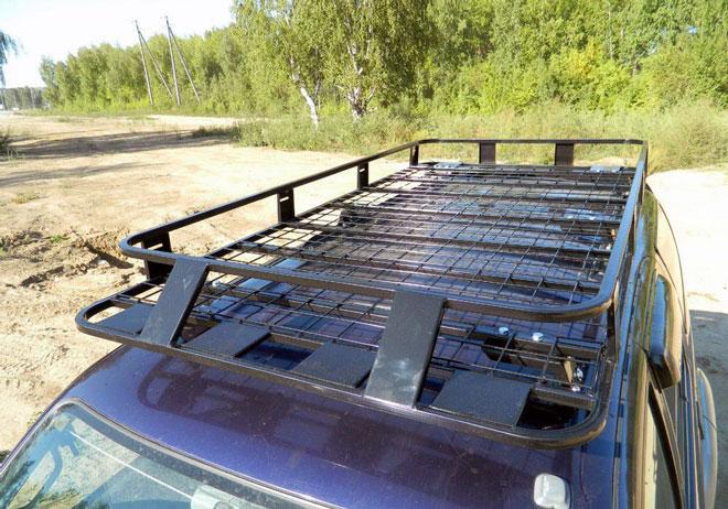 Багажник-на-крышу-авто-созданный-своими-руками