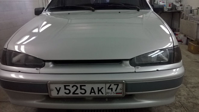 Тюнингованный-капот-ВАЗ-2114