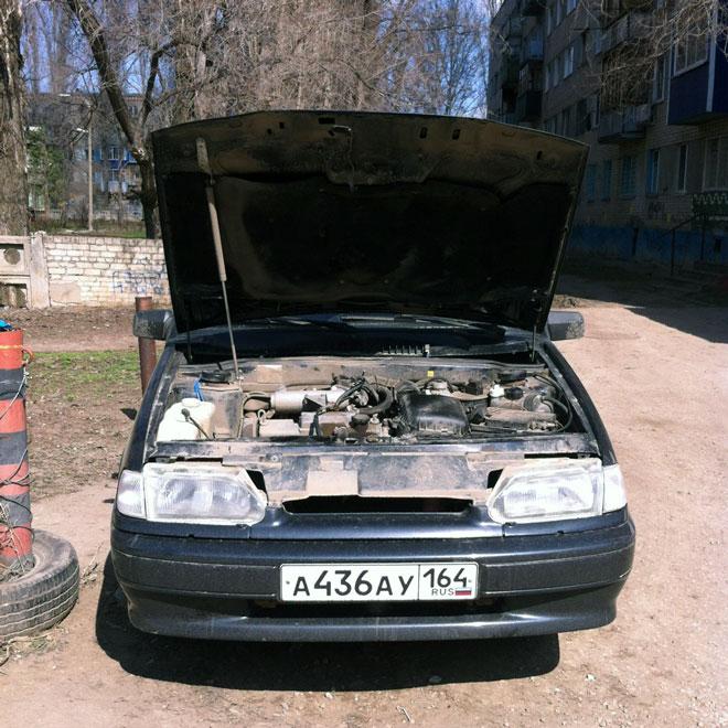 капот-ВАЗ-2114