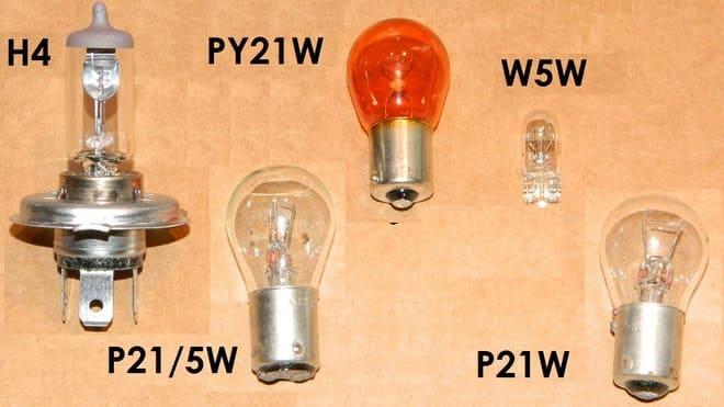 Лампы для машин