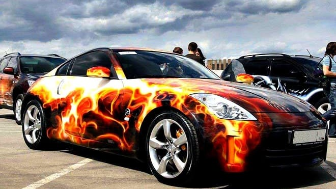 Огненная машина