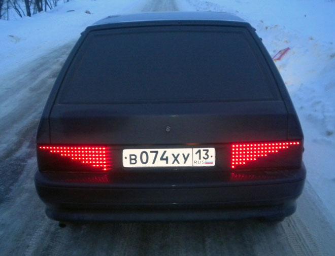 светодиодная-задняя-оптика-ВАЗ-2114