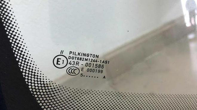 Маркировка Pilkington