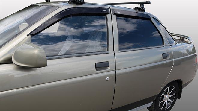 Новые боковые окна на ВАЗ