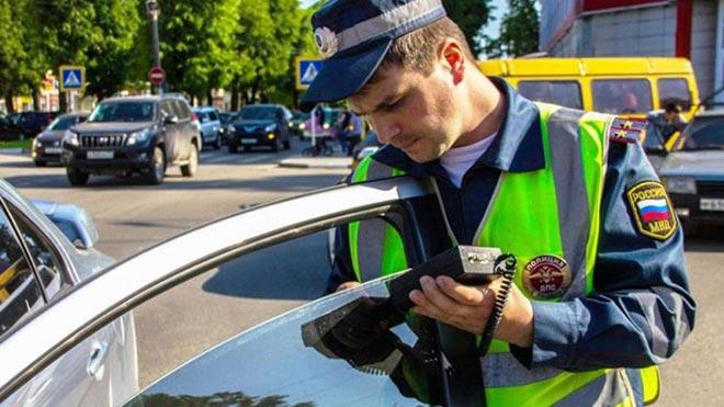 Инспектор выполняет проверку