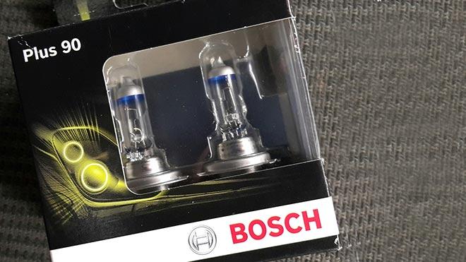 Световые элементы Bosch Plus 90