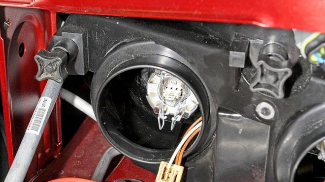 Блок освещения автомобиля