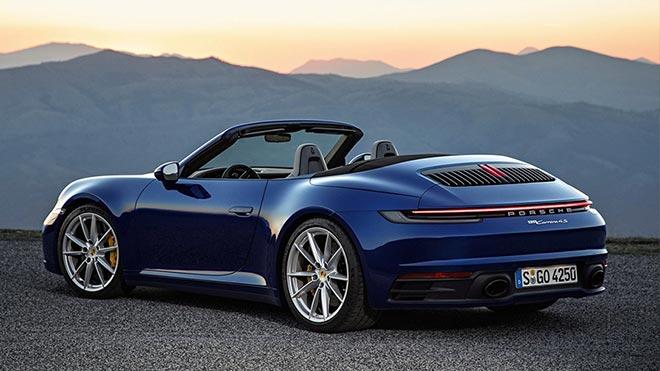 Кабриолет Porsche 911
