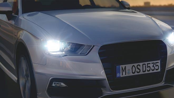 Огни на автомобиле