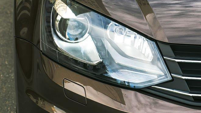 Оптика немецкого авто