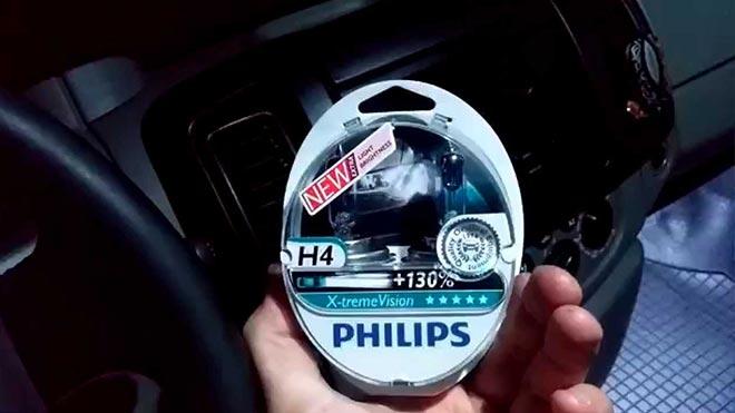 Philips X Treme Vision в руке