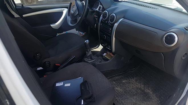 Внутреннее пространство автомобиля