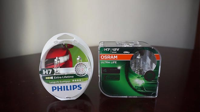 Элементы освещения в упаковках