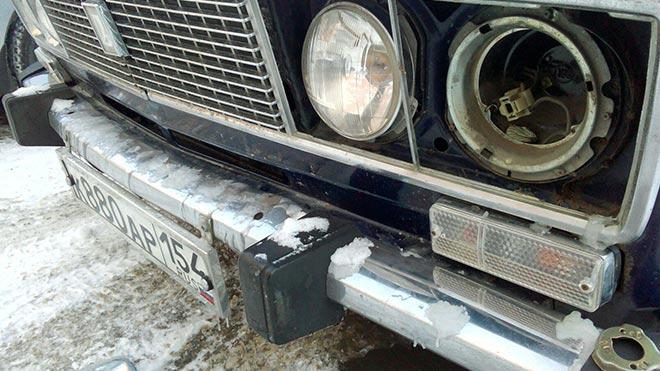 Машина на ремонте