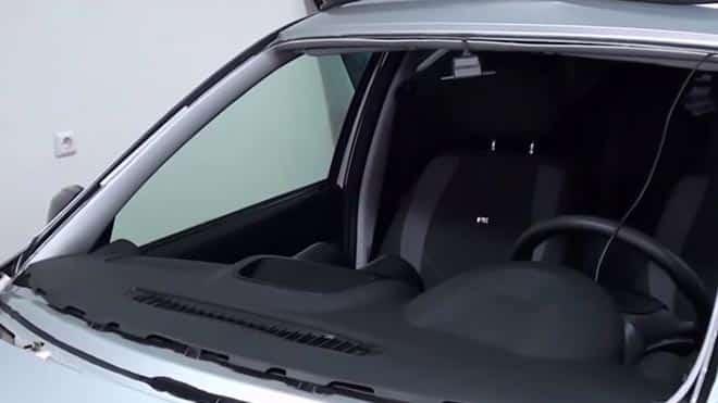 Машина со снятым щитком