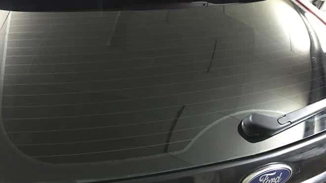 Тыльная часть авто