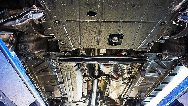 Нижняя часть машины