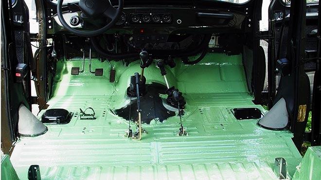 Пространство в машине