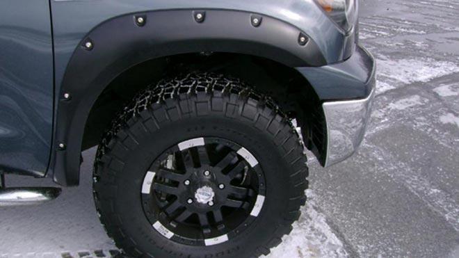 Заклепки вокруг колеса