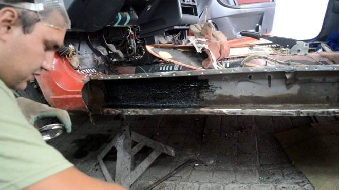 Выполнение ремонта