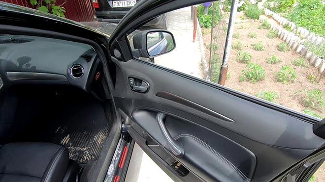 Открыт вход в машину