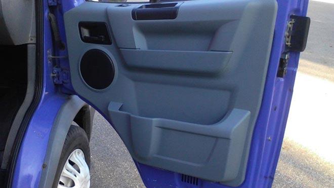 Фиолетовая дверца