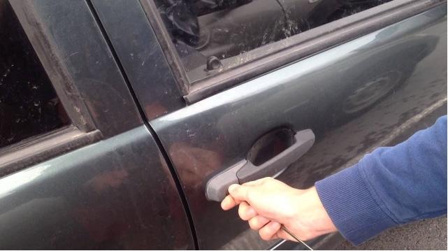 Открытие двери без ключа