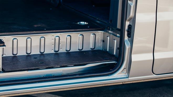 Подножка дверцы